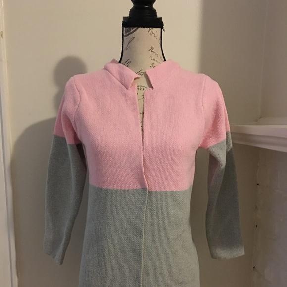 SHEIN Sweaters - Color Block Long Cardigan Sweater NWOT